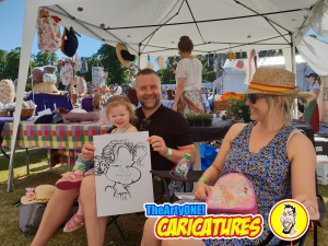 Bounville Festival 2018 TheArtyOne Caricatures