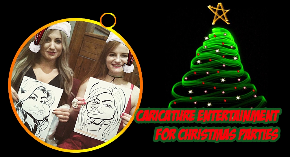 Christmas Party Entertainment Caricatures
