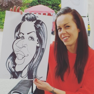 Harborne Night market TheArtyOne Caricatures