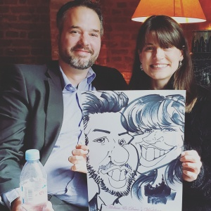 Wedding Entertainment Caricatures