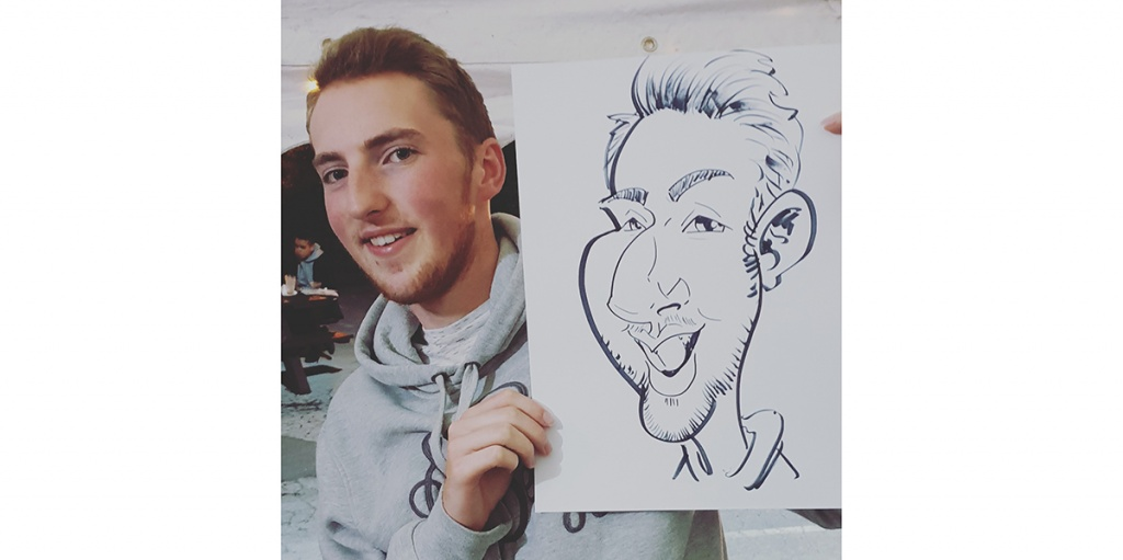 The Arty One Caricatures