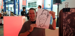 corporate entertainment caricatures