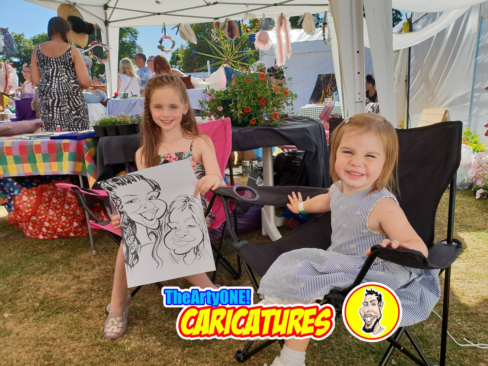 Bounville Festival 2018 TheArtyOne Caricatures