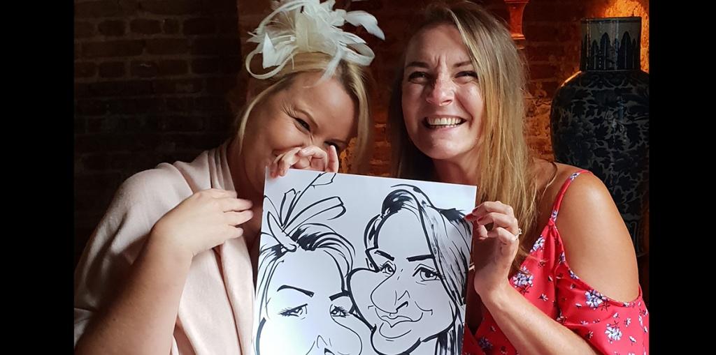 Caricature Wedding Entertainment