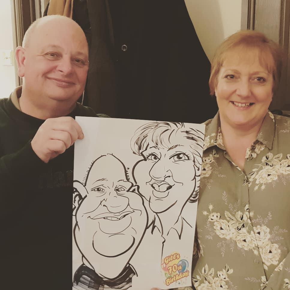 Caricature Party Entertainment
