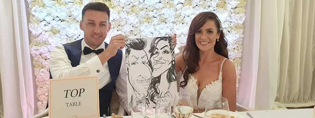 Caricatures for Wedding Entertainment