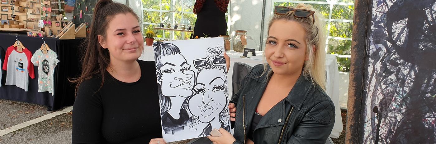 Caricatures Birmingham