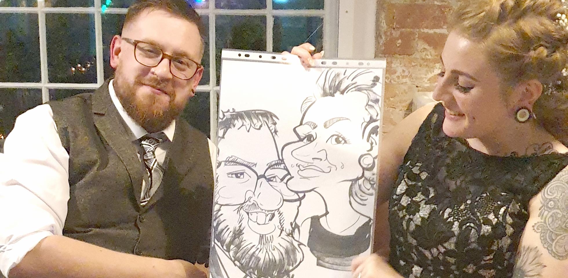 Caricatures Wedding Entertainment