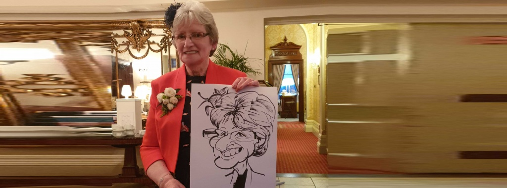 Wedding Entertainment Caricatures in Rugby