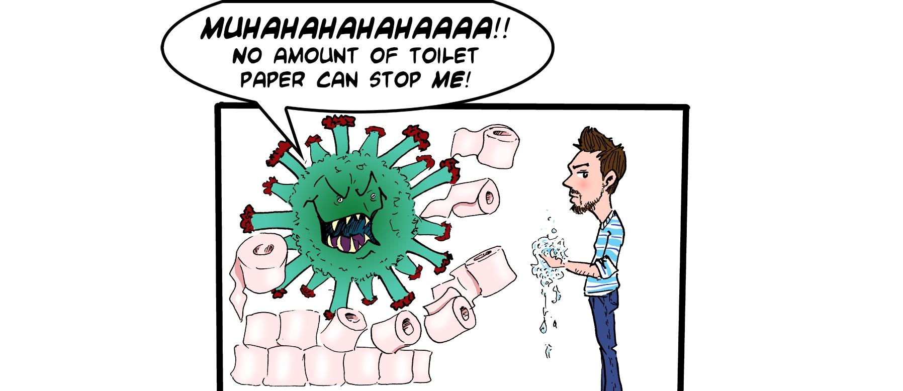 Coronavirus Update for TheArtyOne caricatures