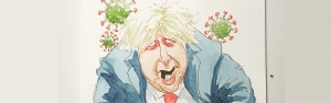 Boris Johnson catches the Zombie Virus